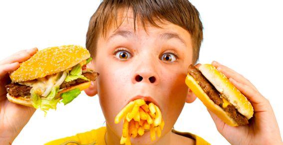 eten met kids