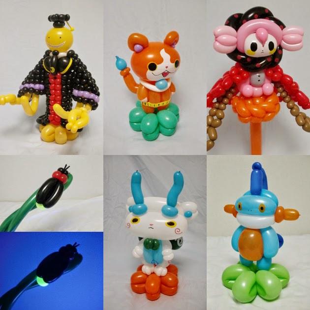 Boneka Balon dari Jepang
