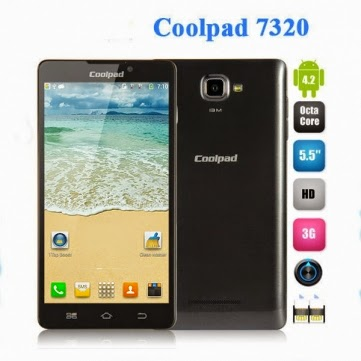 Coolpad 7320 5.5-inch 900 2100MHz MTK6592 1.7GHz Octa-core Smartphone