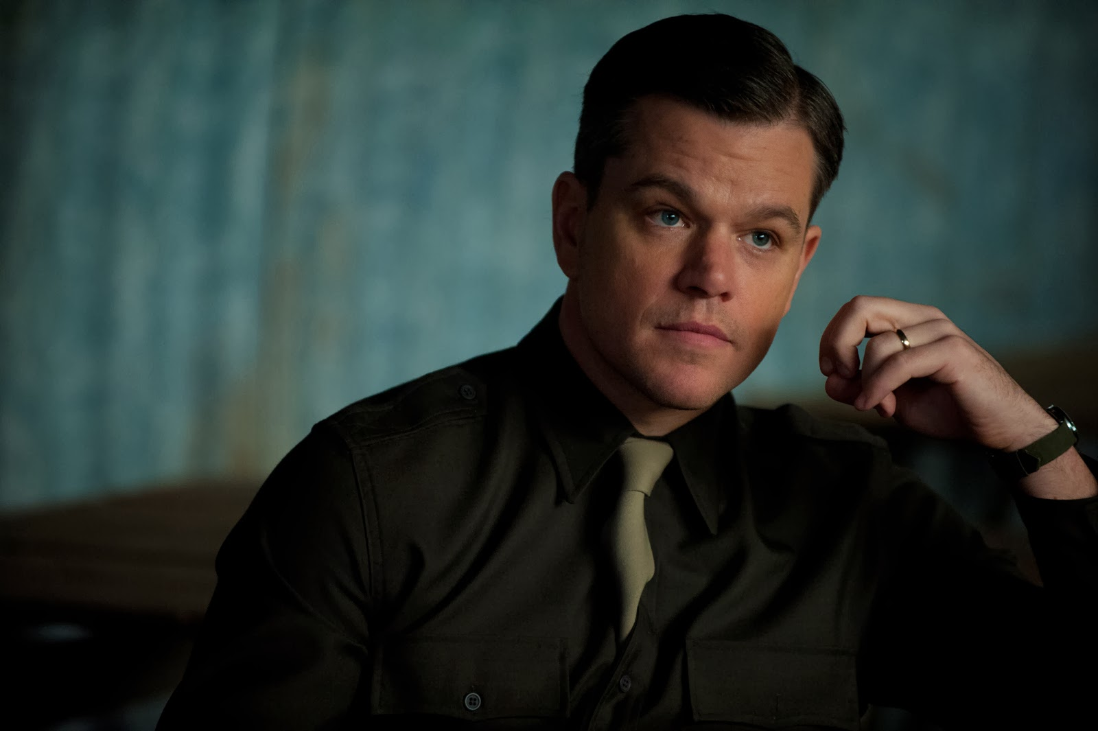 lakwatsera lovers matt damon on the monuments men and how it felt like it 39 s an oceans movie. Black Bedroom Furniture Sets. Home Design Ideas