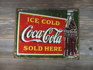 Ice Cold Coca Cola Sold