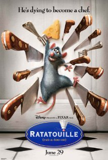 Film poster for Ratatouille animatedfilmreviews.filminspector.com