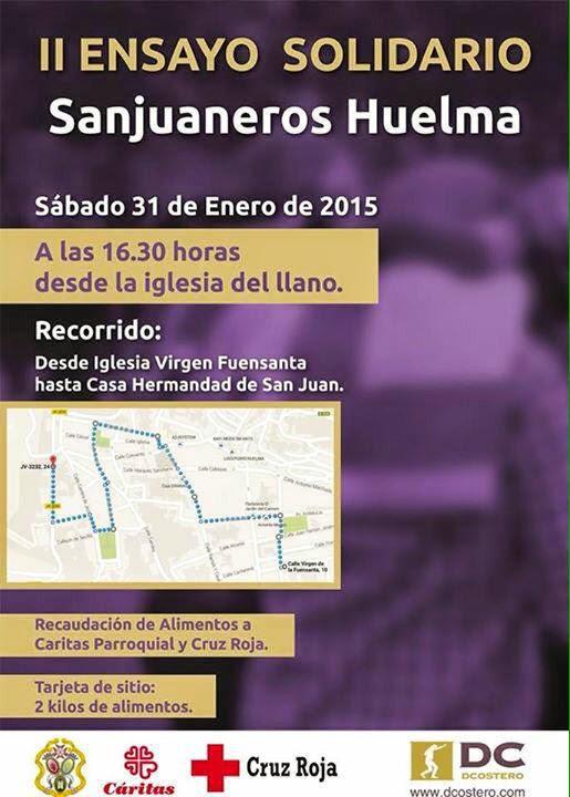 II ENSAYO SOLIDARIO 2015 (ANULADO)