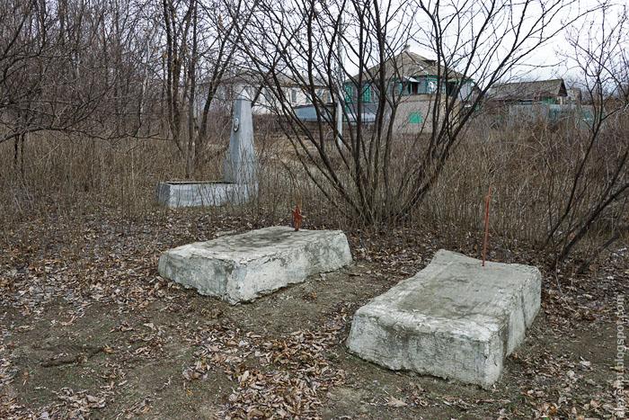 Братская могила времён Гражданской войны 1918-20 годов