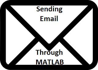 Sending Email thorugh MATLAB