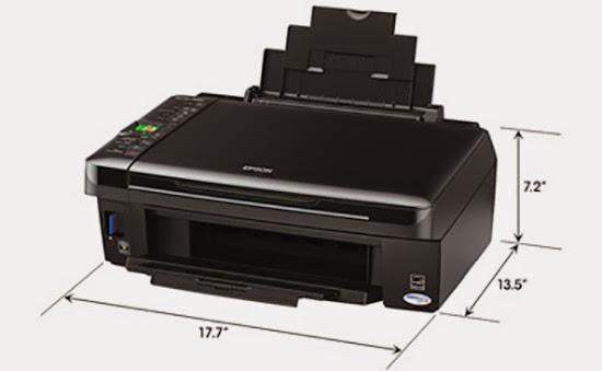 Epson Stylus NX420 size
