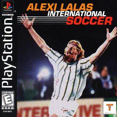 Alexi Lalas International Soccer PSone