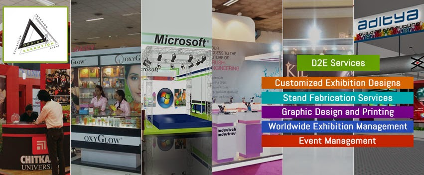 Exhibition Stall Designers and Booth Fabricators Delhi