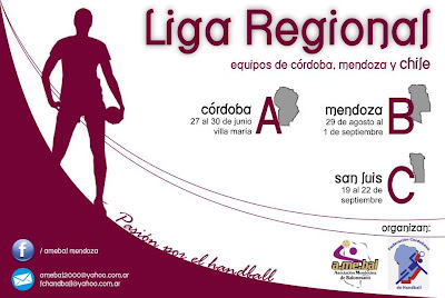 Liga Regional Mendoza, Córdoba, Chile | Mundo Handball
