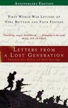 Letters from a Lost Generation edited by Alan Bishop and Mark Bostridge