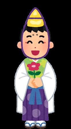 稚児のイラスト(男の子)