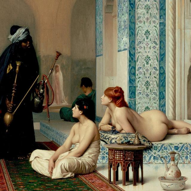 Piscina en el Haren - Jean-Léon Gérôme