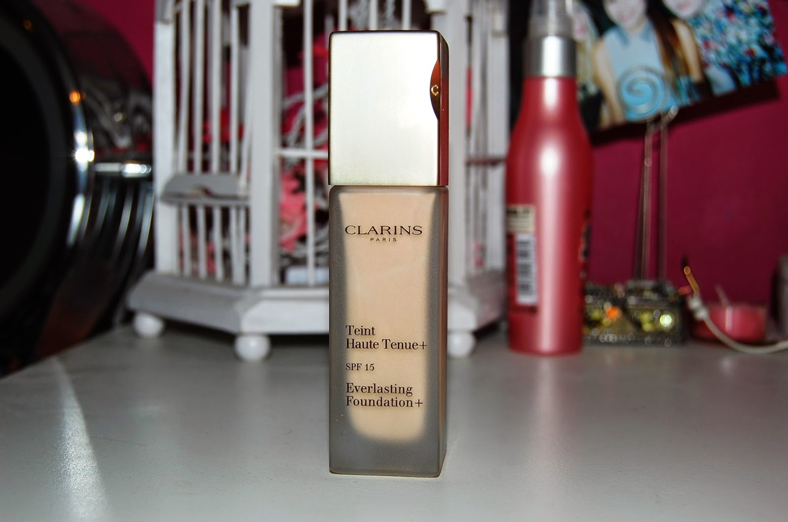 Clarins Everlasting+ foundation