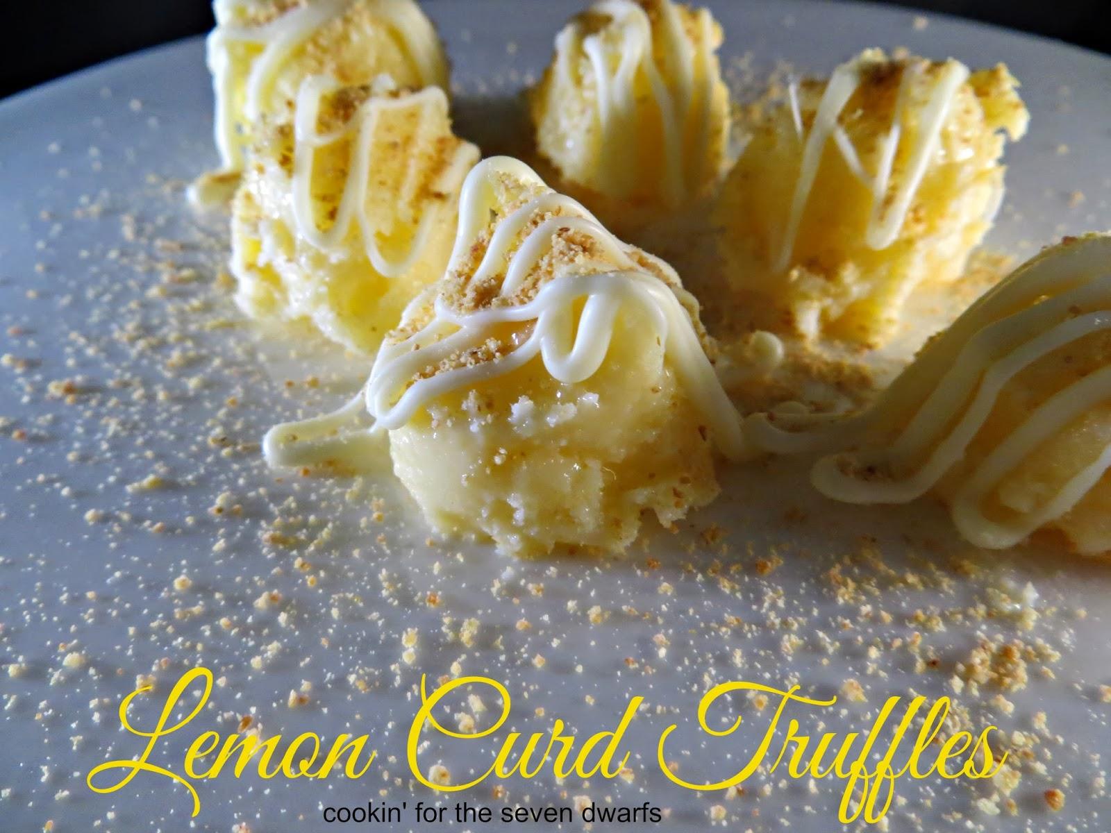 Lemon Curd Truffles