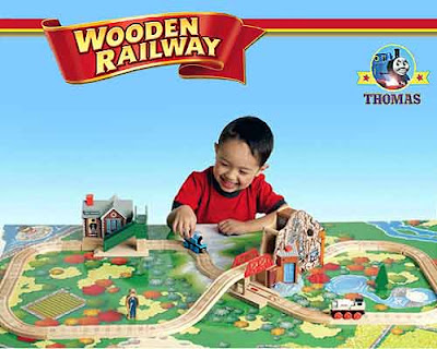 Kids wooden talking Thomas tank and Friends wonderful 35-piece Great Discovery toy railway train set