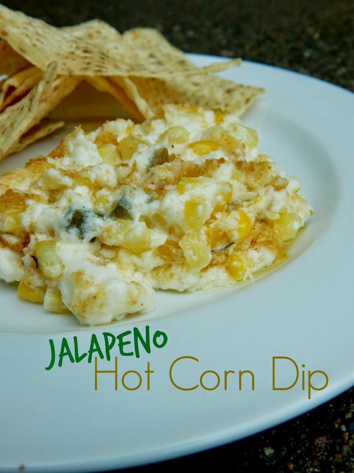 Ally's Sweet and Savory Eats: Jalapeno Hot Corn Dip