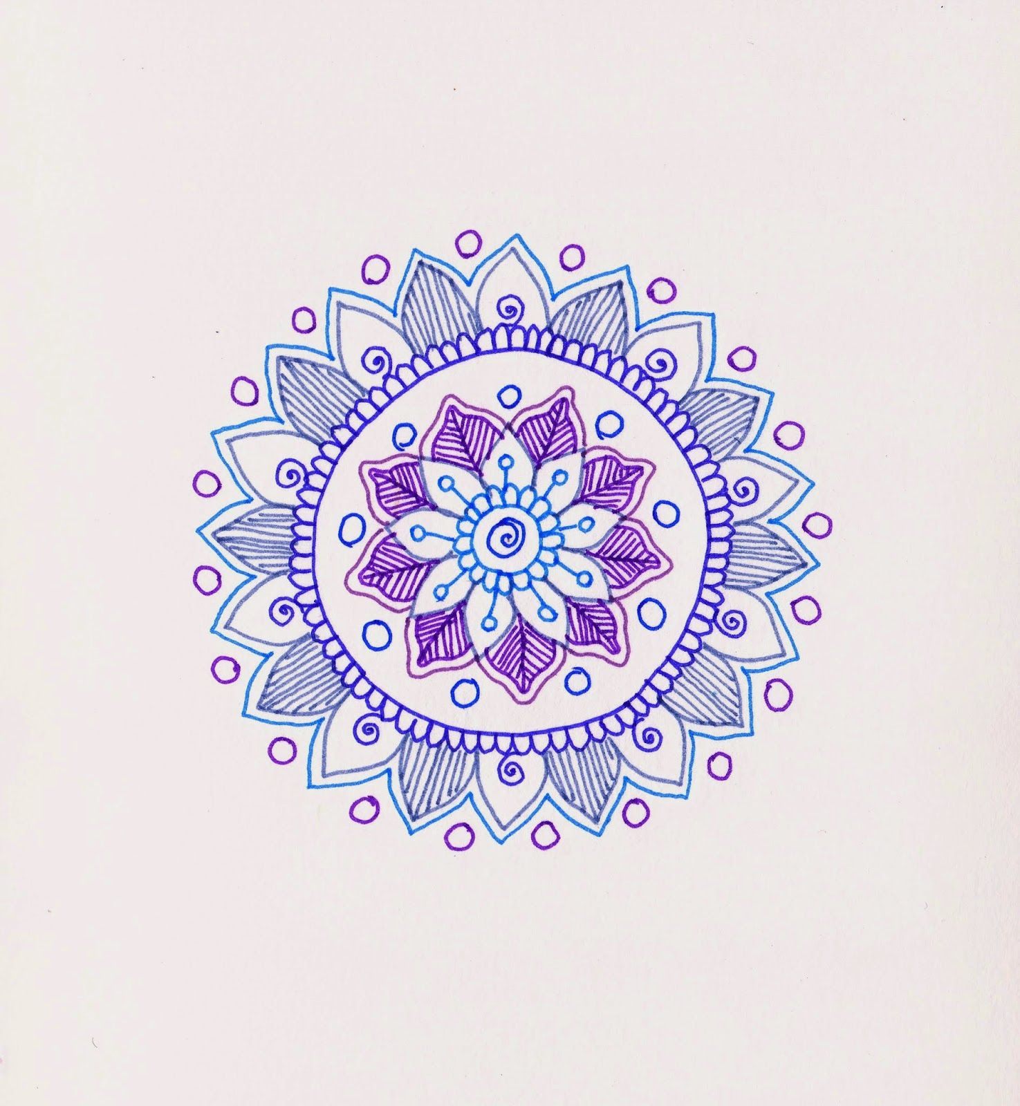 MagaMerlina Mehndi Inspired Mandala Tutorial
