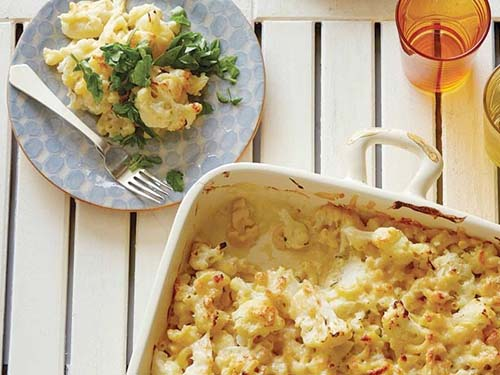 #8. Cauliflower Macaroni & Cheese.  CLICK for More Mac 'n' Cheese Ideas  (via http://www.foodnetwork.com/recipes/rachael-ray/cauliflower-mac-n-cheese-recipe/index.html)