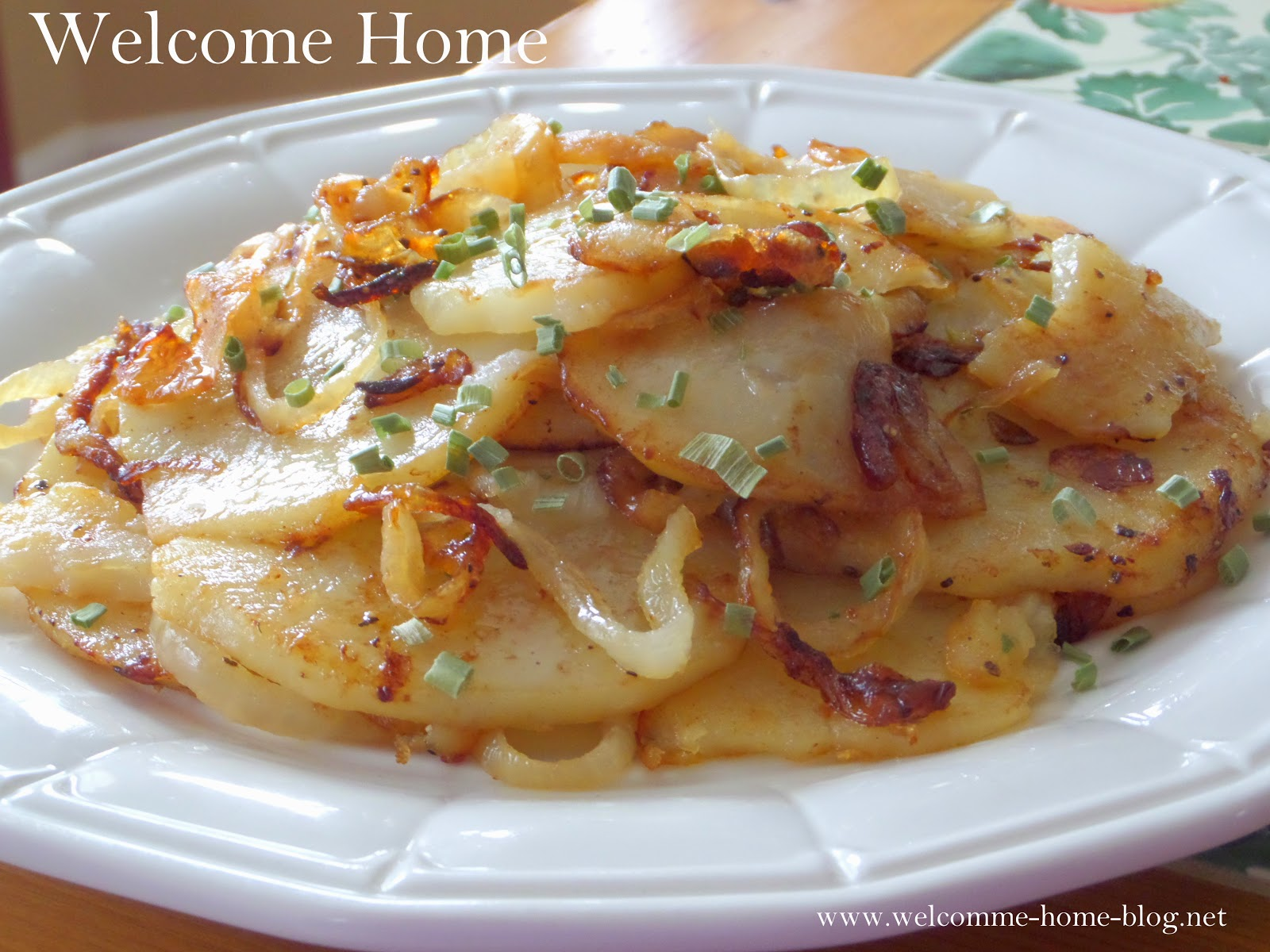 Good fried potatoes with onions 9
