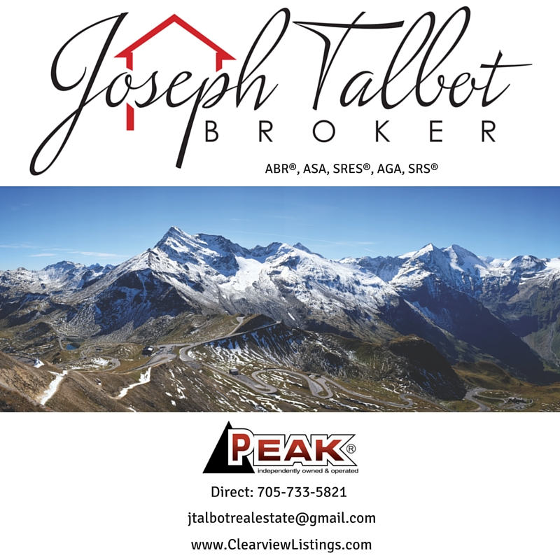 Joseph Talbot, Broker at Peak Lifestyle Realty Ltd., Brokerage