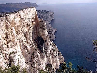 Calanques de Marselha - França