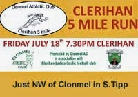 18th July...5m race NW of Clonmel in Tipp