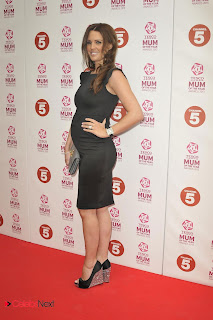 Danielle Lloyd Pictures in Black Short Dress at the Tesco Mum of the Year awards at The Savoy el  0006.jpg