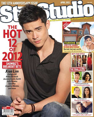 Xian Lim StarStudio Hot 12 of 2012