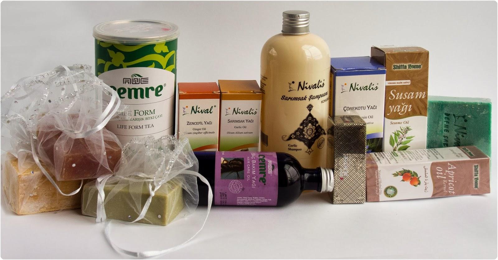 Naturalne kosmetyki - prezenty prosto z Turcji
