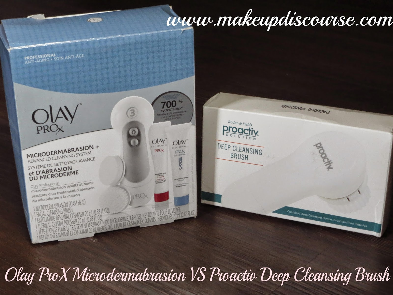 Olay Prox Microdermabrasion + Advanced Cleansing System, Proactiv Deep Cleansing Brush Review India