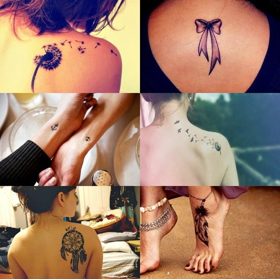 Ideal tattoo placements for ladies tattoo