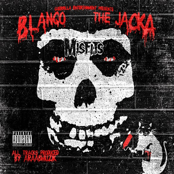 Blanco & The Jacka - Misfits - EP  Cover