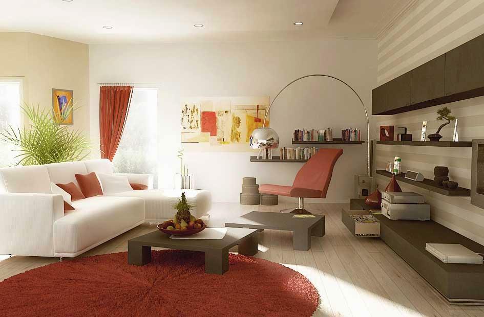 Minimalist Living Room Interior Design Modern Minimalist