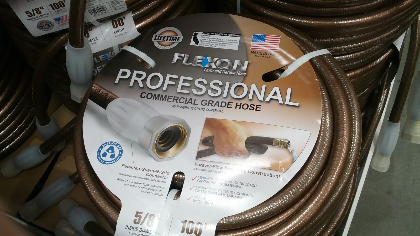 Marvelous Flexon 100 Ft Professional Commercial Grade Hose U2013 Kink Free