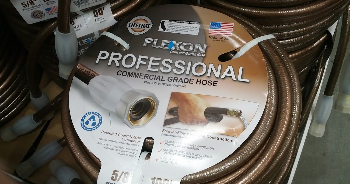 Flexon 100 ft Professional Commercial Grade Hose Costco Weekender