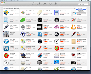 Mac App Store Text Editors