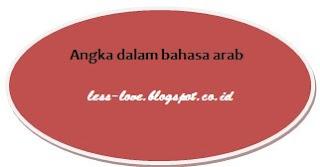 Angka Dalam Bahasa Arab 1-10