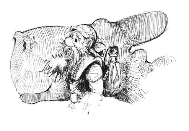 Krasnoludy dwarves nains Гномы smoki dragons dragons драконы komiks bandes dessinées comics piwo beer bière пиво Zbyszek Larwa stańczyk obława