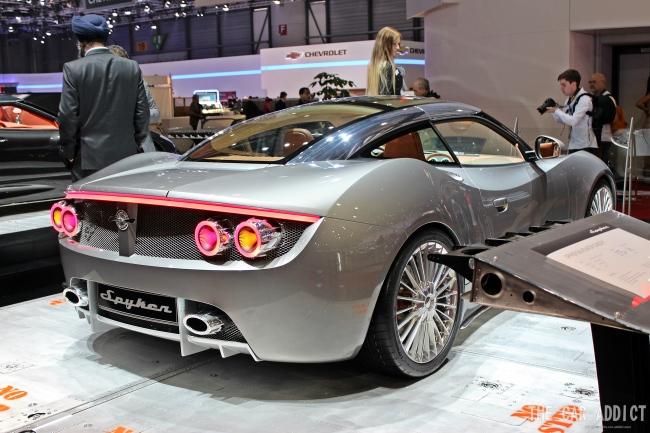 Geneva Motor Show 2013: Spyker B6 Venator