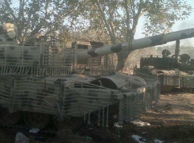 الوحش الفولاذي لدى قوات الجيش السوري .......الدبابه T-72  75434