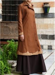 Contoh model baju gamis turki desain terbaru