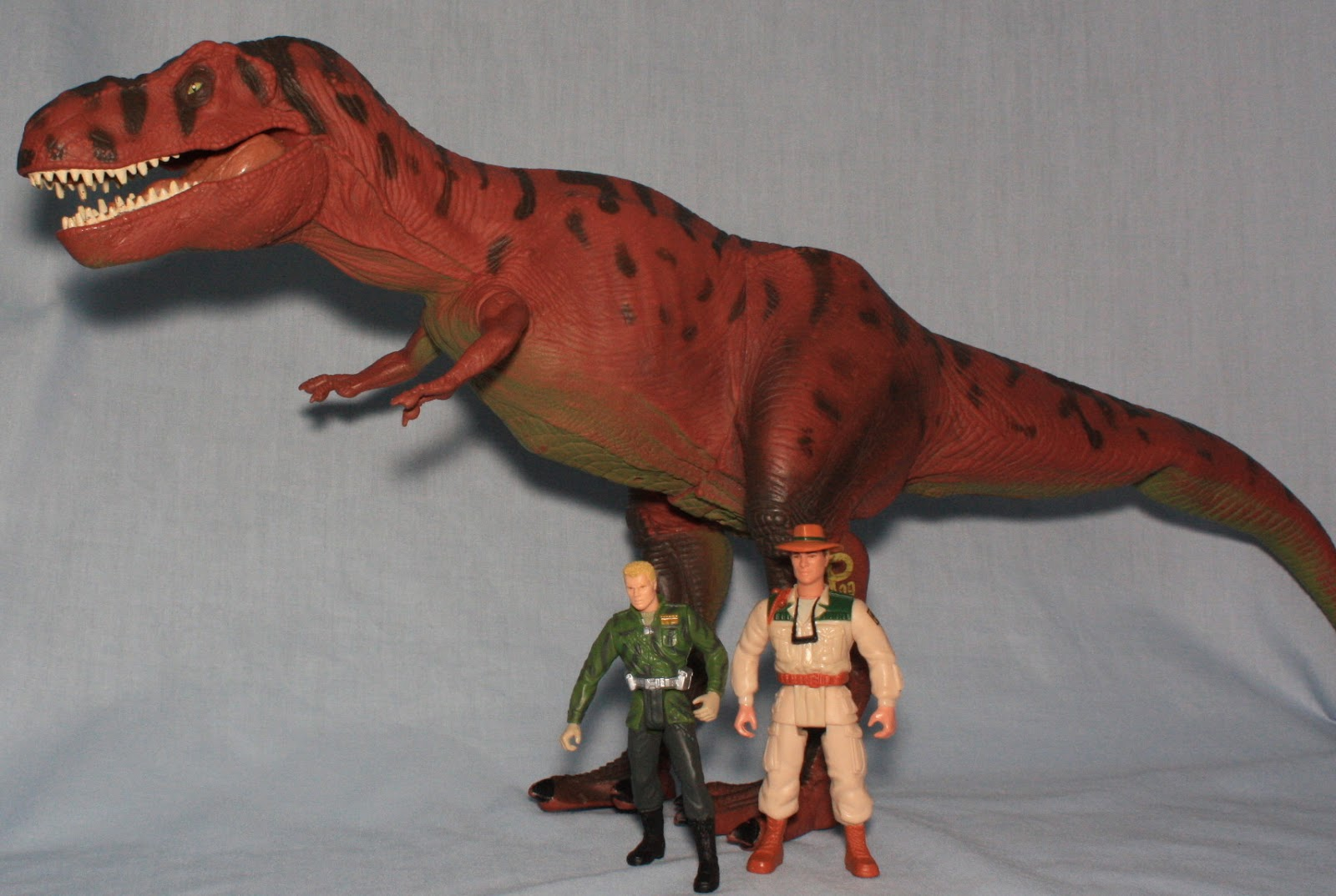 Jurassic Park Toys T Rex : The plastic eyeball a toy life uh finds way