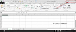 Excel 2013 cambio de MDI a SDI.