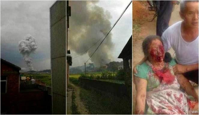Pabrik Kembang Api Meledak