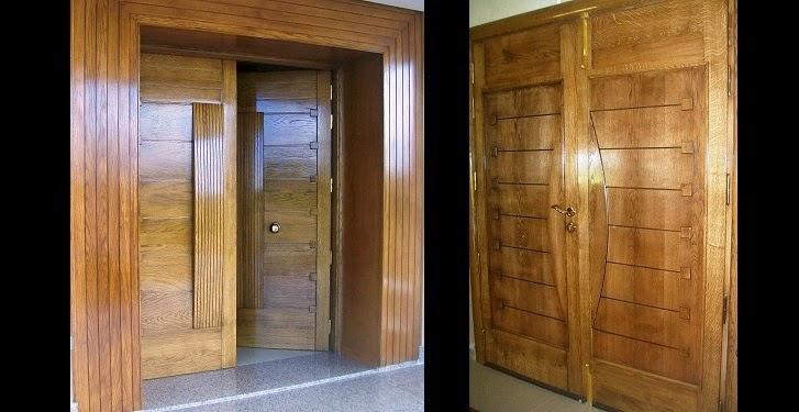 Soci t meubles jemour fr res for Porte en bois massif exterieur