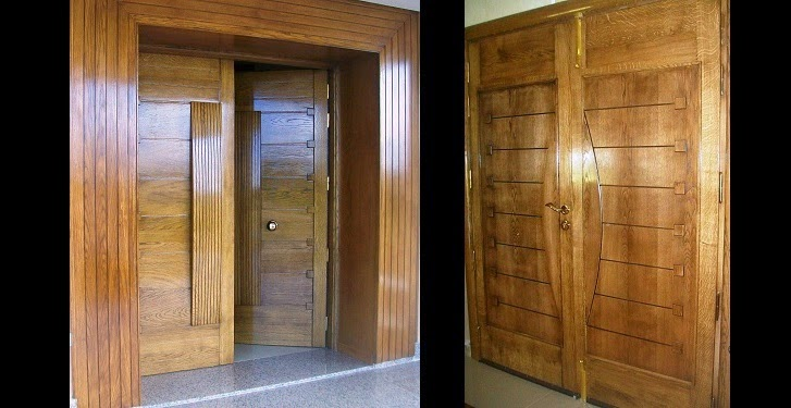 Soci t meubles jemour fr res for Porte exterieur bois tunisie