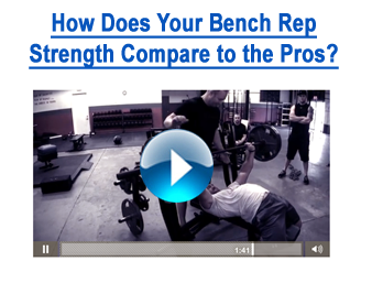 Bench Your Bodyweight Strength Test