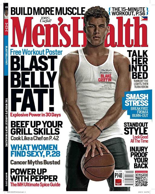 Men S Health: Turtz On The Go: Blake Griffin Covers Men's Health