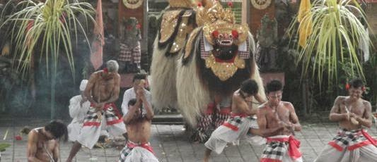 Barong and Keris Dance - Batubulan, Barong Keris Dance