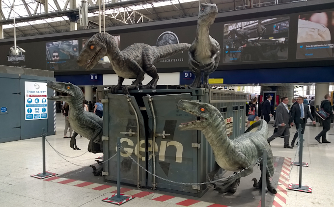 Welcome... To Waterloo Station